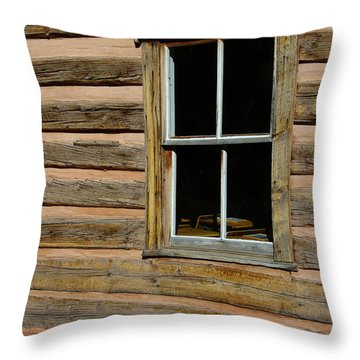 Throw Pillow featuring the photograph Back Into The Past by Vicki Pelham