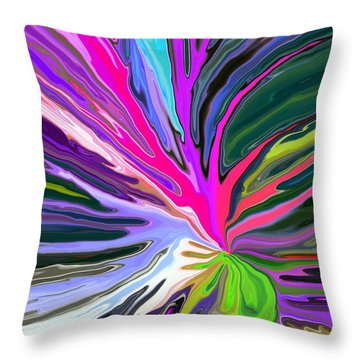 Bad Seed Throw Pillow by Chris Butler