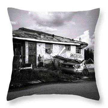 Baghdad Throw Pillow