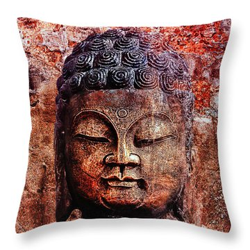 Balance Throw Pillow by Joachim G Pinkawa