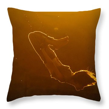 Balance The Light Throw Pillow