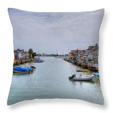 Balboa Island 2 Throw Pillow