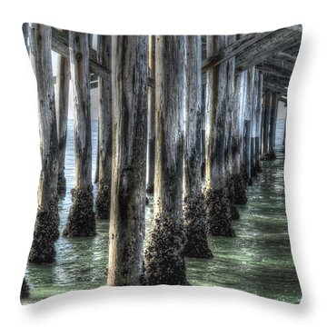 Balboa Pylons Throw Pillow