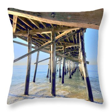 Balboa Sunrise Throw Pillow