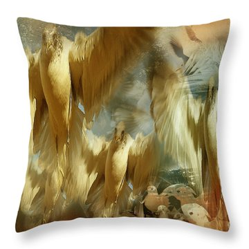 Throw Pillow featuring the photograph Balet by Danica Radman
