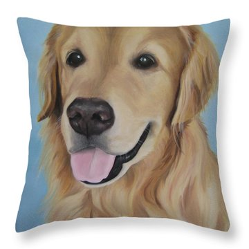 Baltazar Throw Pillow by Jindra Noewi