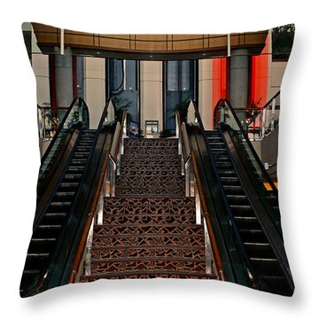 Baltimore Stairway Throw Pillow