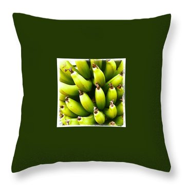 Banana Throw Pillows