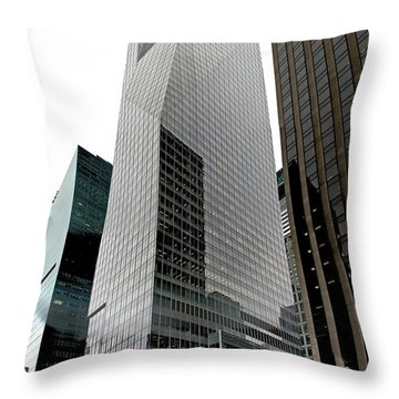 Bank Of America Throw Pillow