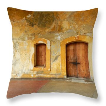 Bar The Doors Throw Pillow