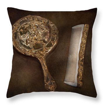 Barber - I'm So Pretty Throw Pillow by Mike Savad