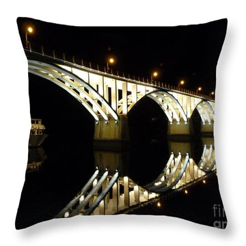 Barca D'alva Throw Pillow