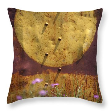 Basic Elements Throw Pillow