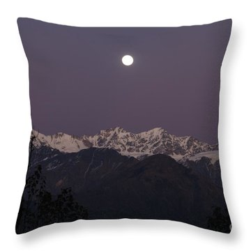 Throw Pillow featuring the photograph Bathed In Moonlight by Fotosas Photography
