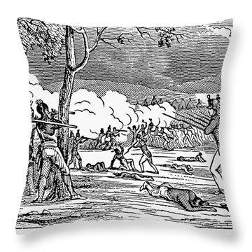 Battle Of Tippecanoe Throw Pillow by Granger