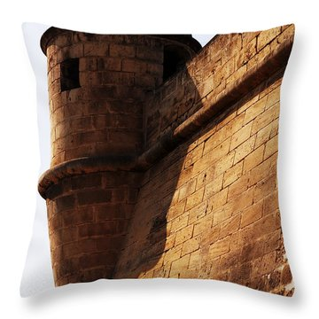Battlement Throw Pillow