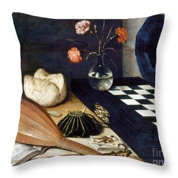 Baugin: Still Life Throw Pillow by Granger