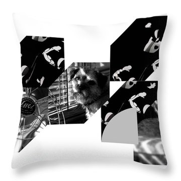 Bauhaus Ballet Toto Throw Pillow by Charles Stuart