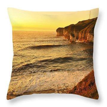 Bay Throw Pillow by Svetlana Sewell