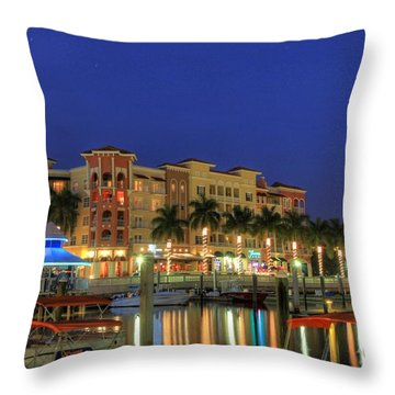 Bayfront 2 Throw Pillow