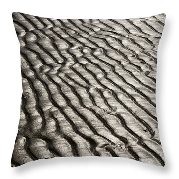 Throw Pillow featuring the photograph Beach Sands by Fotosas Photography