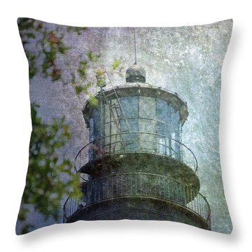 Beacon Of Hope Throw Pillow by Judy Hall-Folde