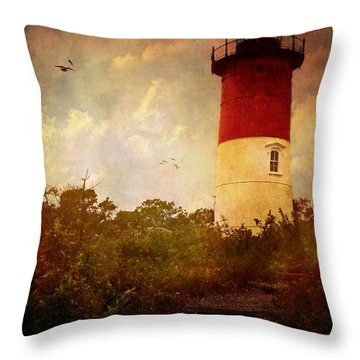 Beacon Of Hope Throw Pillow by Lianne Schneider