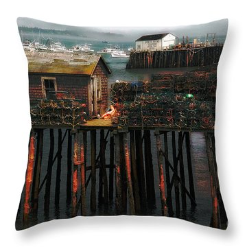 Beals Island Throw Pillow
