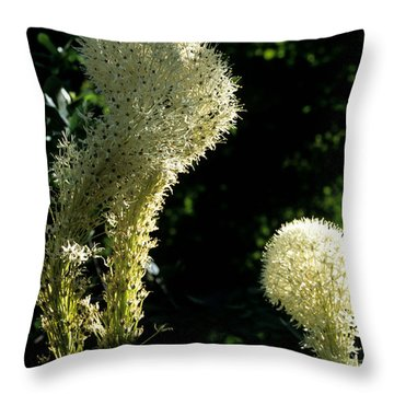 Throw Pillow featuring the photograph Bear-grass I by Sharon Elliott
