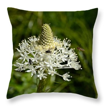 Beargrass Throw Pillow