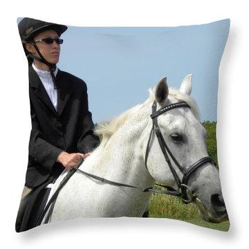 Beau 2 Throw Pillow