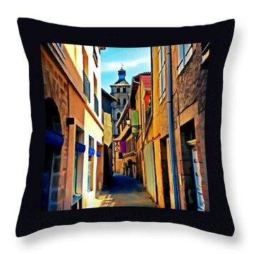 Beaulieu-sur-dordogne Throw Pillow