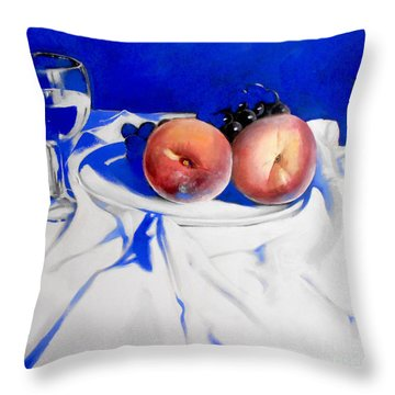 Beaute De La Peche Throw Pillow