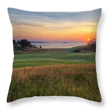 Beautiful Game Throw Pillow
