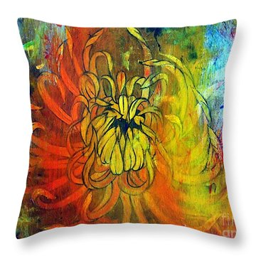 Beautiful Mistake Throw Pillow