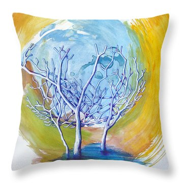 Beautiful On Purpose Throw Pillow