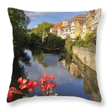 Beautiful Tuebingen In Germany Throw Pillow