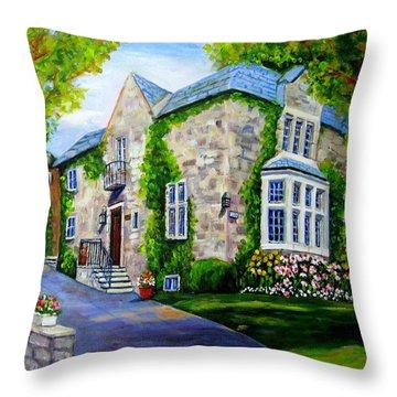 Beautiful Westmount Home Throw Pillow by Carole Spandau