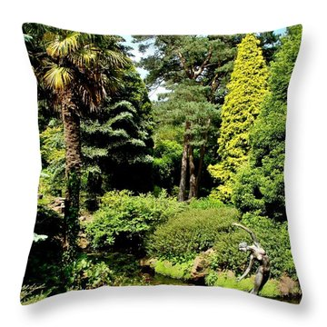 Throw Pillow featuring the photograph Dancing In Her Dream... by Katy Mei