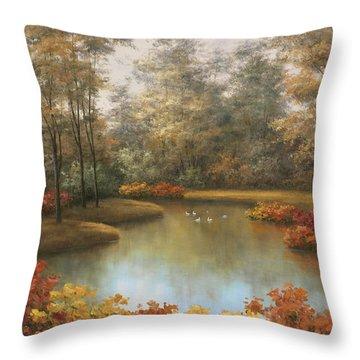 Beauty Of Autumn Throw Pillow