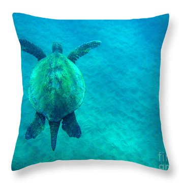 Beauty Of The Sea Throw Pillow by Bob Christopher