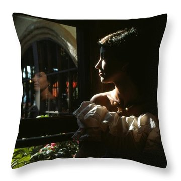 Beauty Reflected 2 Throw Pillow by Roy Williams