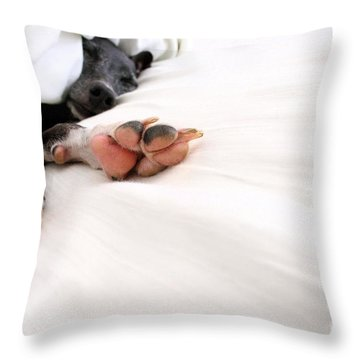 Bed Feels So Good Throw Pillow