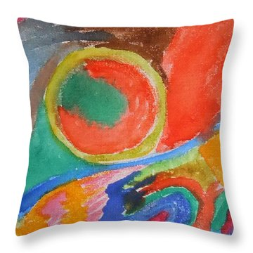 Before Conception Throw Pillow by Francine Frank