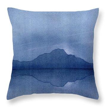 Before The Moonrise Throw Pillow by Hakon Soreide