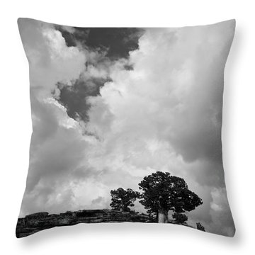 Before The Storm 2 Throw Pillow