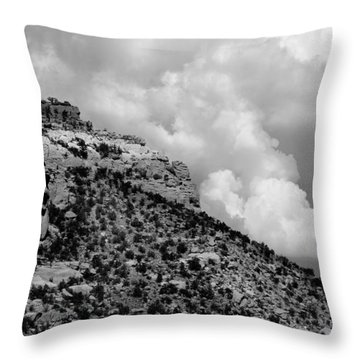 Throw Pillow featuring the photograph Before The Storm by Vicki Pelham
