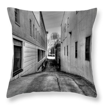 Behind The Scene Throw Pillow by Dan Stone