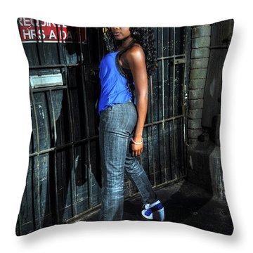 Bel11.0 Throw Pillow