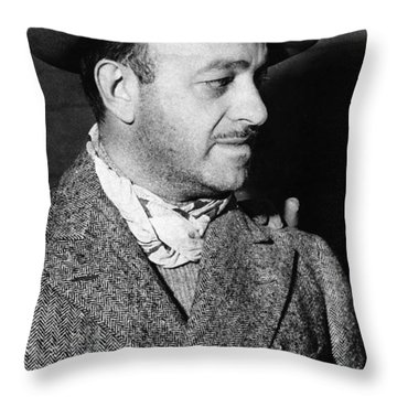 Ben Hecht (1894-1964) Throw Pillow by Granger